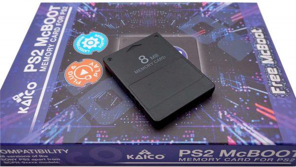 PlayStation 2 8MB Free McBoot 1.966 Memory Card