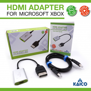 Original Xbox HDMI Display Adaptor