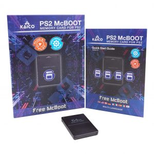 PlayStation 2 64MB Free McBoot 1.966 Memory Card