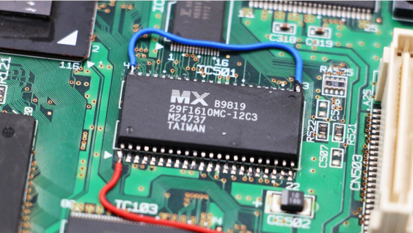 Sega Dreamcast Region Free BIOS Chip Mod