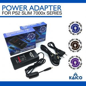 Slim Line PlayStation 2 UK Power Supply