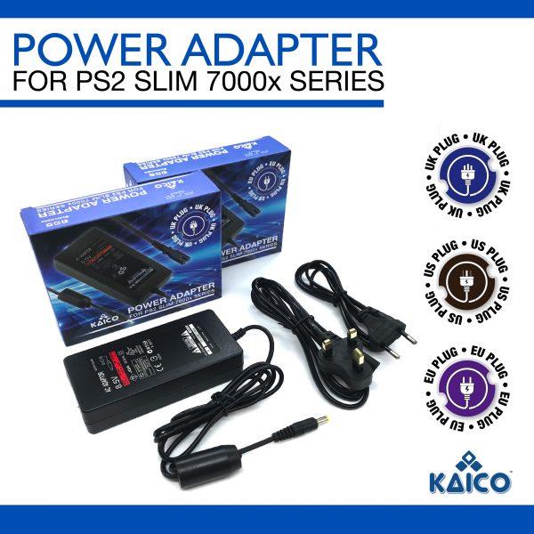 Slim Line PlayStation 2 UK Power Supply