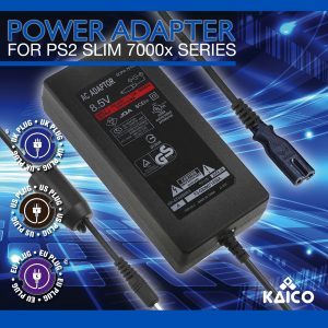 Slim Line PlayStation 2 EU Power Supply