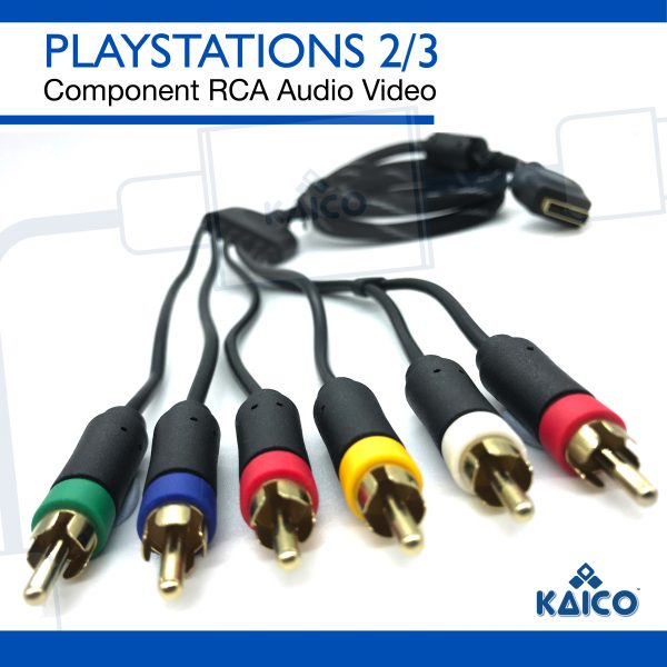 Sony PS3 Component & Composite Display Cable