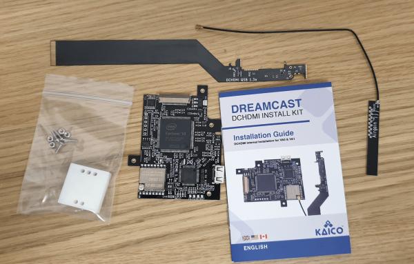 Dreamcast DCHDMI DC Digital Install Mod Kit