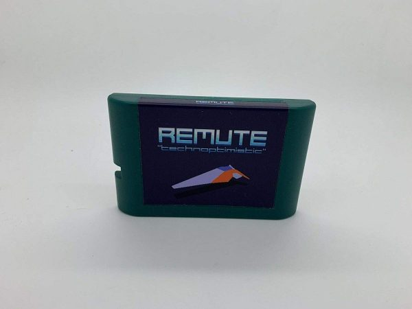 Remute SEGA MegaDrive Game Cartridge