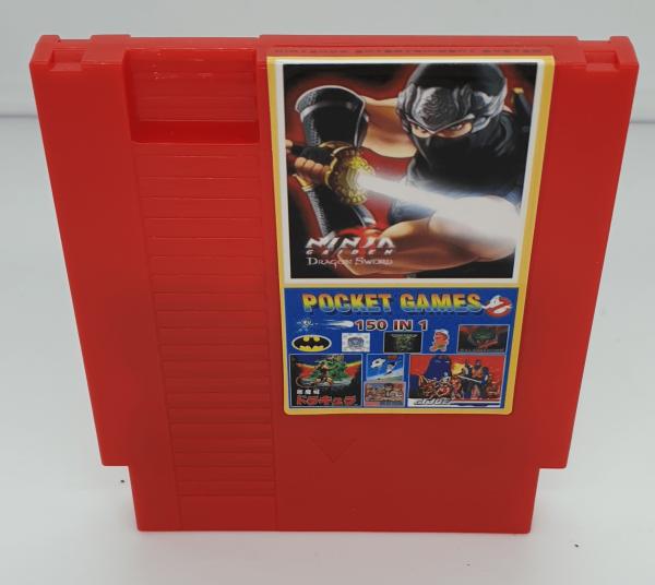 150 in 1 Classic Super Games Multi Cart for NES