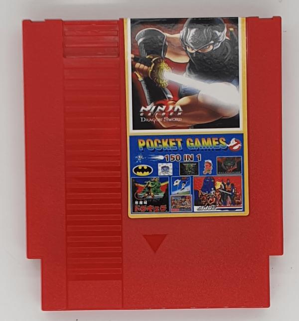 Best 150 Games in 1 Cartridge for NES