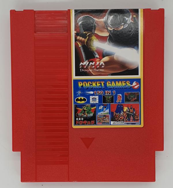NES 150 Games in 1 Cartridge