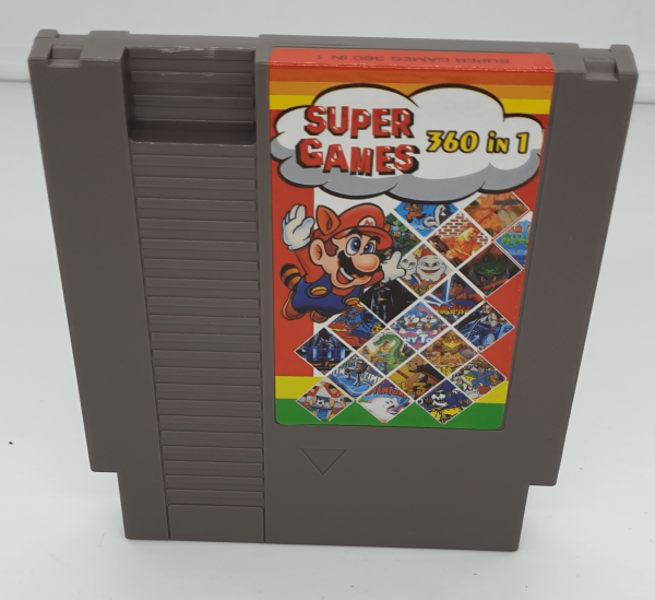 NES Cartridge with 360 Games