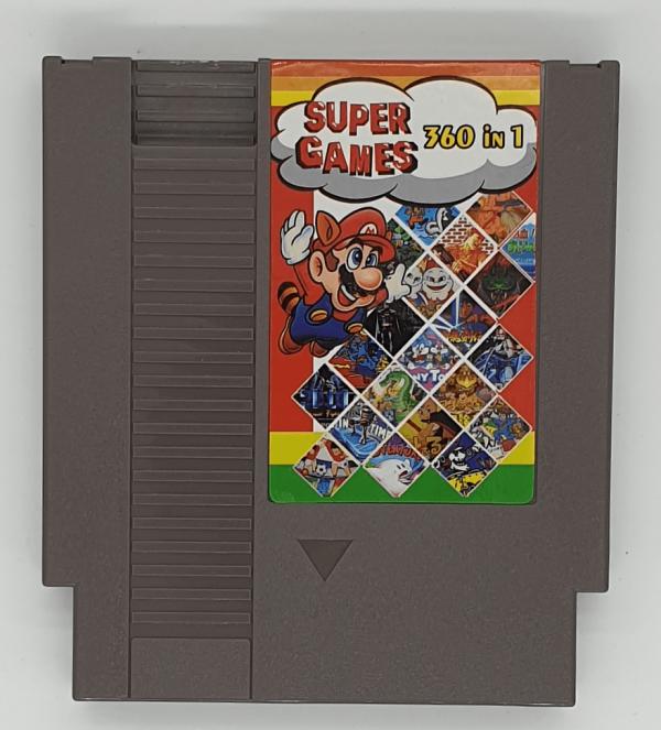 NES 360 Games in 1 Multi Cartridge