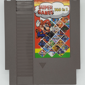 NES 360 Games in 1 Cartridge