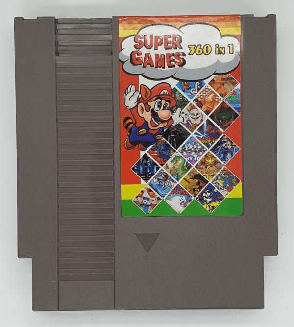 NES 360 Games in 1 Cartridge