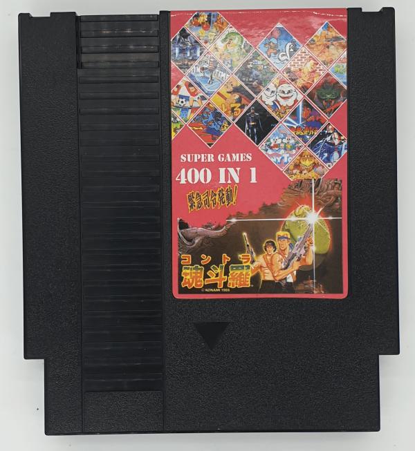 400 Games in 1 NES Cartridge