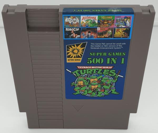 500 Games in 1 NES