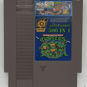 500 in 1 NES Super Games Cartridge