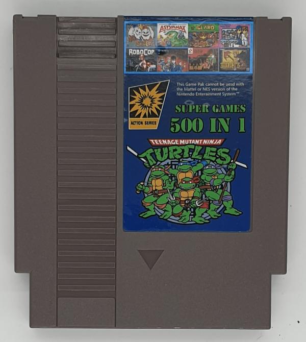 500 in 1 NES Super Games Cartridge