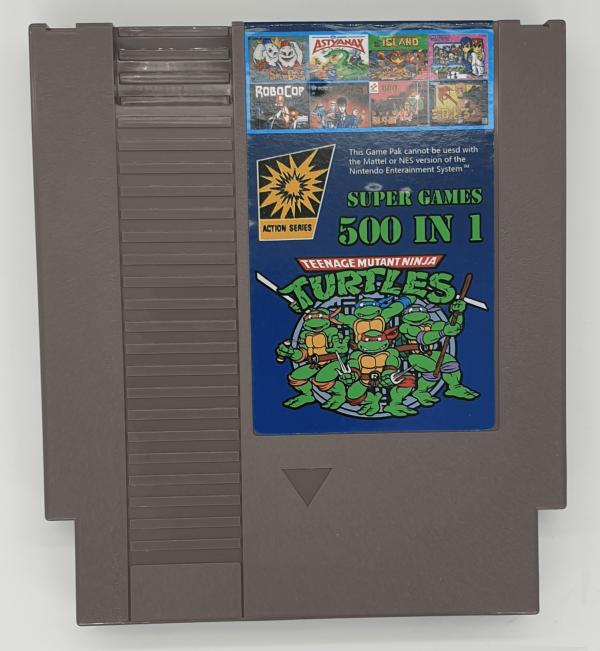 NES 500 Games in 1 Cartridge