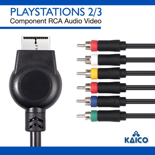 Sony Playstation 1 Composite Display Cable