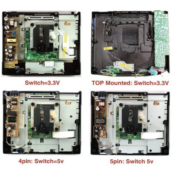 Sega SaturnPSU Board and PSU